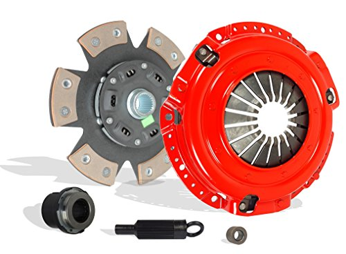 Clutch Kit Chevrolet Camaro Pontiac Firebird Base RS Coupe Convertible 2-Door 1996-2002 3.8L V6 GAS OHV Naturally Aspirated (6-Puck Disc Stage 3)