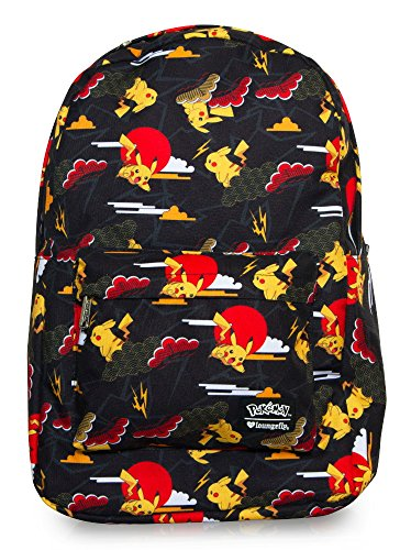 Price comparison product image Pokemon Pikachu Cloud Print Backpack
