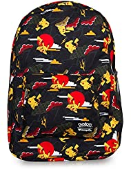 Pokemon Pikachu Cloud Print Backpack