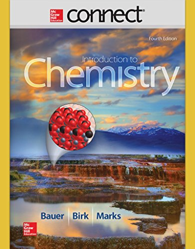 Connect 1 Semester Access Card for Introduction to Chemistry