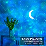Laser Star Projector, Lupantte Moon Projector, USB Nebula Galaxy Light with Soothing Aurora Effects, Bluetooth Speaker…