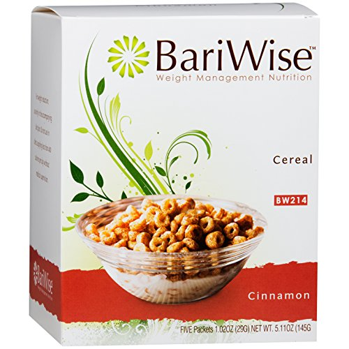 Diet Cereal (BariWise Low-Carb High Protein Diet Cereal - 15g Protein Per Serving - Cinnamon Flavored Cereal - (5 Count))