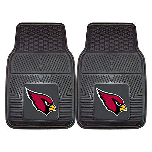 Sports Licensing Solutions LLC NFL 2-Piece Heavy-Duty Vinyl Car Mat Set, Arizona Cardinals #21369776