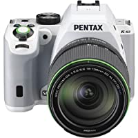 Pentax K-S2 SLR lens kit w/18-135mm WR white 20 MP Weatherized Wi-Fi/NFC Enabled SLR Camera (Body Only)