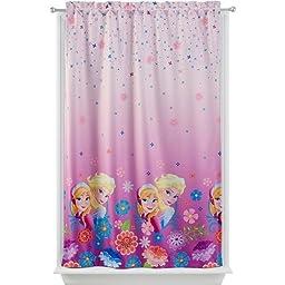 Disney Frozen Breeze 42 by 63-Inch Polyester Room Darkening Panel