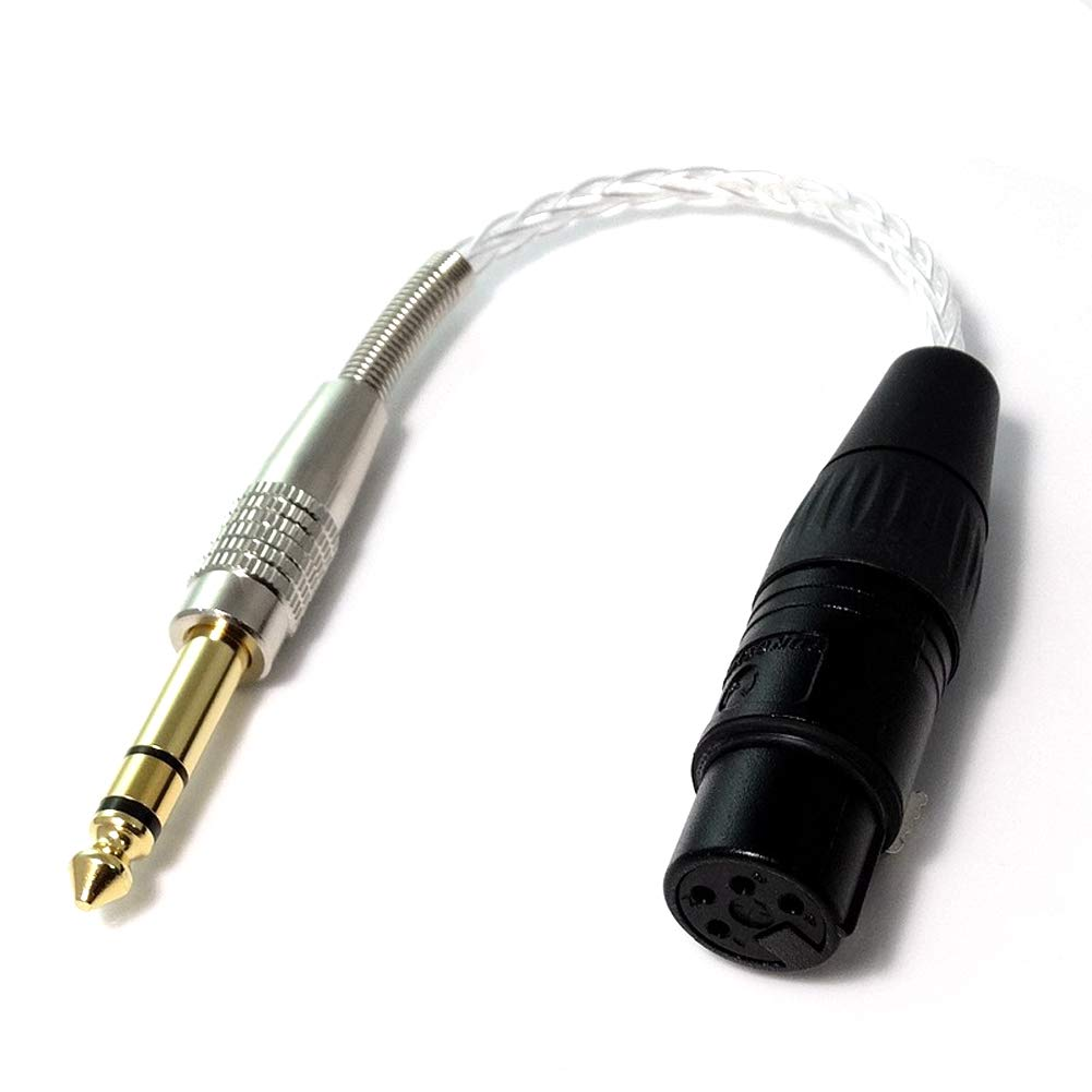 M/ännlich Weiblich Upgrade Audio Kabel 6,35mm Haldaneaudio 10cm DIY 1//4 1//8 Stecker auf XLR,3,5mm Weiblich bis 4-Pin XLR M/ännlich bis 4-Pin XLR