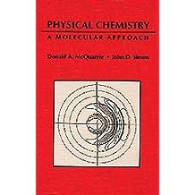 amazon com donald a mcquarrie books rh amazon com Chemistry Kit Chemistry Panel