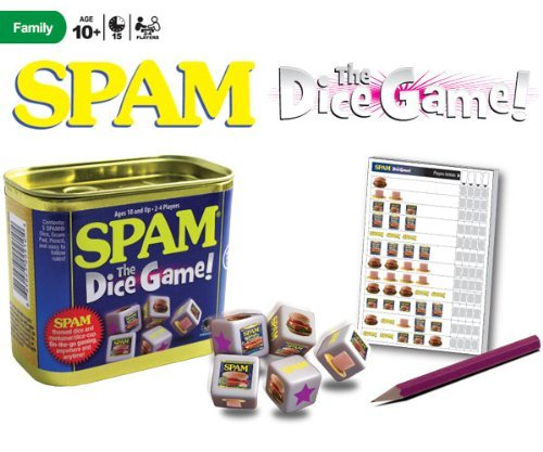 Spam The Dice Game