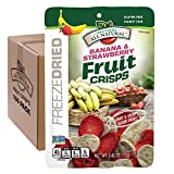 Cheap Brothers-ALL-Natural Fruit Crisps, Strawberry Banana, 0.42 Ounce (Pack of 100)