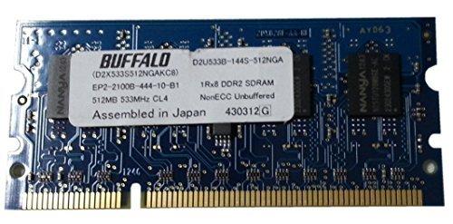 Kyocera memory 512MB 533Hz CL4 (BUFFALO DDR2 SDRAM) for:FS-6025 C8020 2020D 3925 6975 1130 TA221 by Kyocera (Image #1)