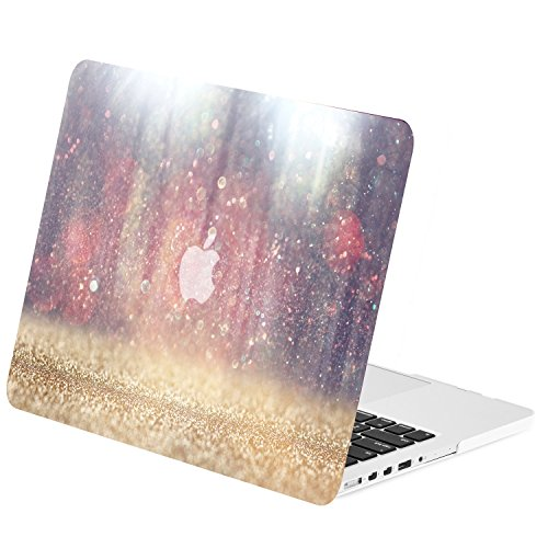 TOP CASE - Retina 15-Inch Graphics Rubberized Hard Case Cover for MacBook Pro 15
