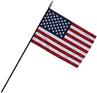 "product image for Flag Zone FZ-1049344 Heritage U.S. Classroom Flag, 7/16"" x 48"" Staff, 24"" Width, 36"" Length"