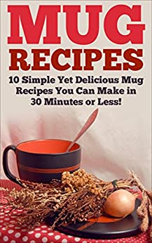 Mug Recipes Delicious Homemade Breakfast ebook product image