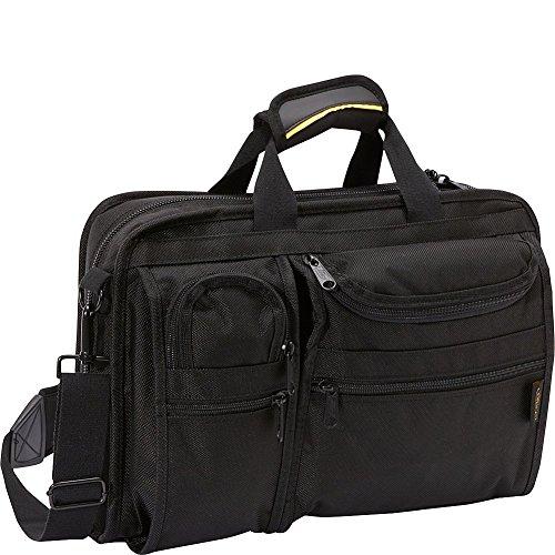 A. Saks Ballistic Nylon Organizer Briefcase