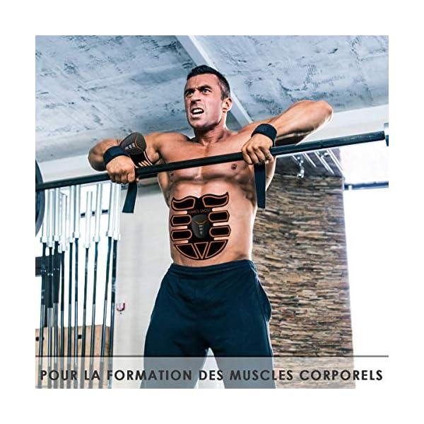 kames skoss prestige – Appareil d'électrostimulation, ceinture abdominale, electrostimulation Trainer pour hommes et…