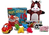 The Traveling Toddler Activity Bag - Travel Toy Assortment for Kids Ages 2 years & Up by Fun On The Fly