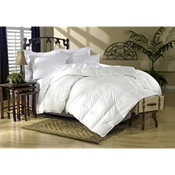 egyptian bedding thread count king 1200tc siberian goose down comforter 750fp white solid tc