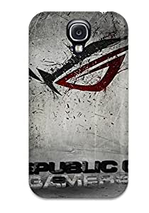Tpu Case For Galaxy S4 With Asus Republic Of Gamers Design for Fashion Unique BT-SB personality case