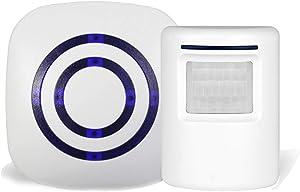 Giveaway: Infrared Motion Sensor Alarm Entry Alert Vistor Doorbell…