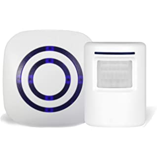Amazon.com: ERAY PIR Motion Alarm, P6 Wireless Home Security ...