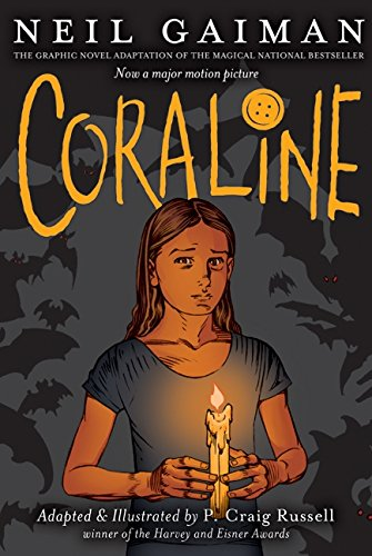 Coraline: The Graphic Novel [Neil Gaiman] (Tapa Blanda)
