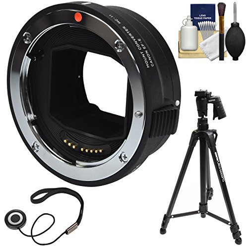 Sigma MC-11 Mount Converter (Canon EOS EF to Sony Alpha E-Mount) with 61
