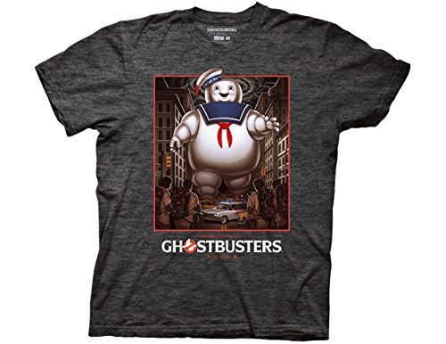 Licensed Ghostbusters Stay Puft Adults T-shirt, S to XXL