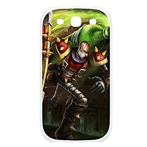 Singed-002 League of Legends LoL case cover Samsung Galaxy Note4 Plastic White