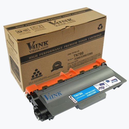 V4INK ® New Compatible Brother TN780 Toner Cartridge for Brother HL-5400 Series/HL-6100 Series/DCP-8110 Series Toner Printers, Office Central