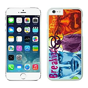 4EVER Cool Cell Case for Iphone 6 White, Fantasy Breaking Bad Iphone 6 (4.7 inch) Shell Cover