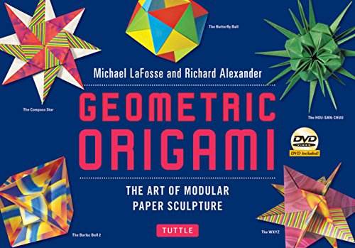 Geometric Origami Kit: The Art of Modular Paper Sculpture: This Kit Contains an Origami Book with 48 Modular Origami Papers and an Instructional DVD from Tuttle Publishing