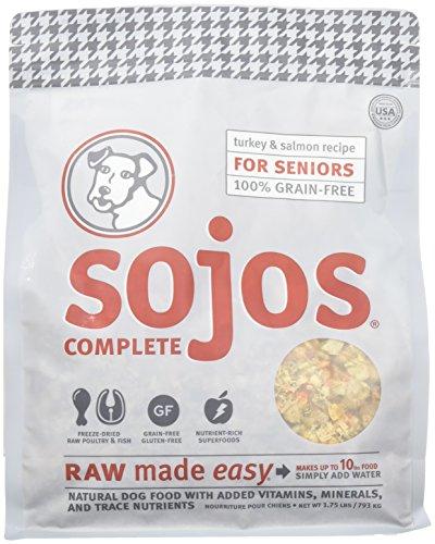 Complete Turkey - SOJOS Turkey & Salmon Complete Senior Dog Food, 1.75 lb