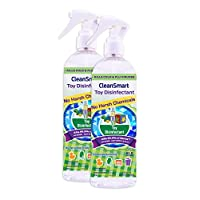 CleanSmart Toy Disinfectant Spray - No Rinse, No Wipe, Kills 99.9% of Germs, ...