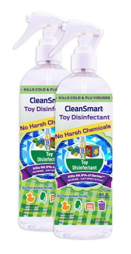 CleanSmart Toy Disinfectant Spray Bacteria