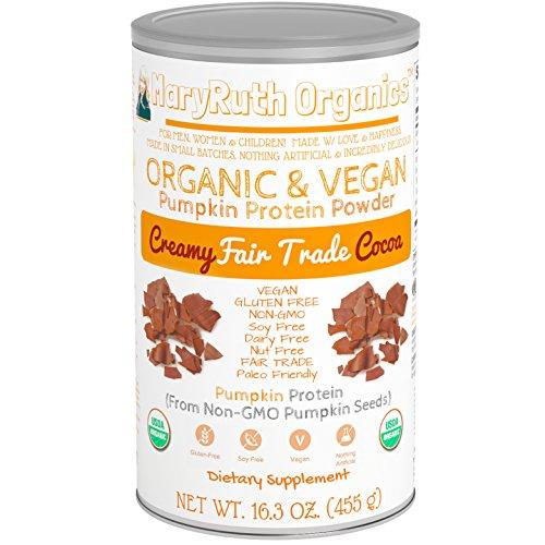 ORGANIC PROTEIN Plant Based Chocolate MARYRUTH