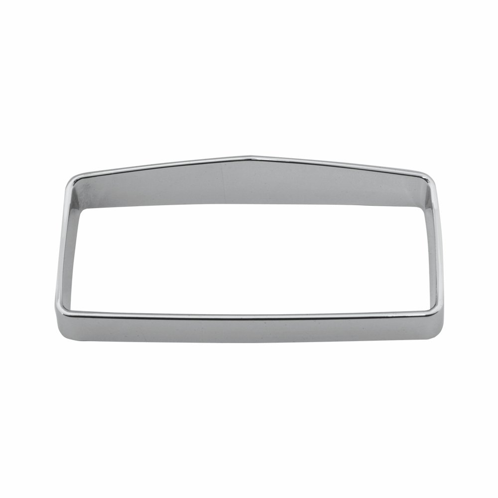 Grand General 66994 Plastic Chrome Center Instrument Bezel with Visor for Kenworth