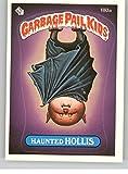 1986 Garbage Pail Kids Series 5 #180A Haunted Hollis * On Back