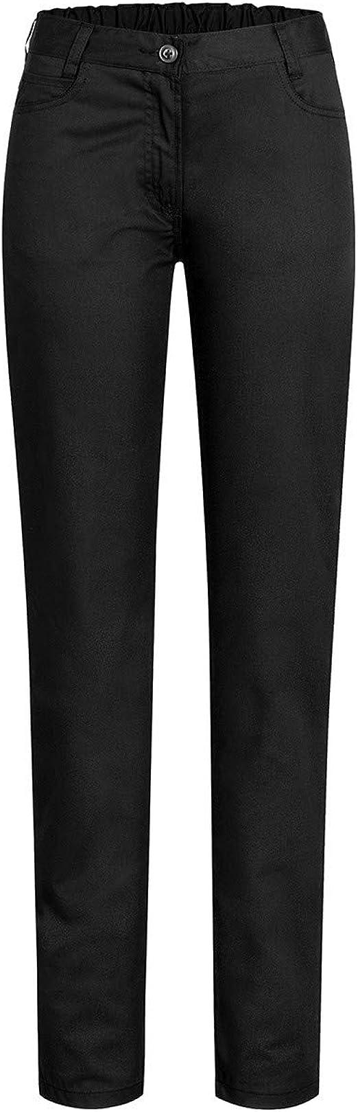 Style 5319 GREIFF Damenhose Cuisine Basic Schwarz Five Pocket  Regular Fit