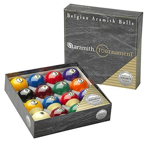 Aramith Pure Phenolic Pool Balls Regulation Belgian Made Billiard Ball Set (Tournament)