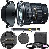 Tokina AT-X 11-20mm f/2.8 PRO DX Lens for Canon EF With Original Hood, Lens Brush, Ultraviolet Filter (UV) Polarizing Filter (CPL) Fluorescent Daylight Filter (FL-D) - International Version