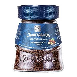 Juan Valdez® Caffè Liofilizzato Istantaneo con Nocciola, Vaso da 95g