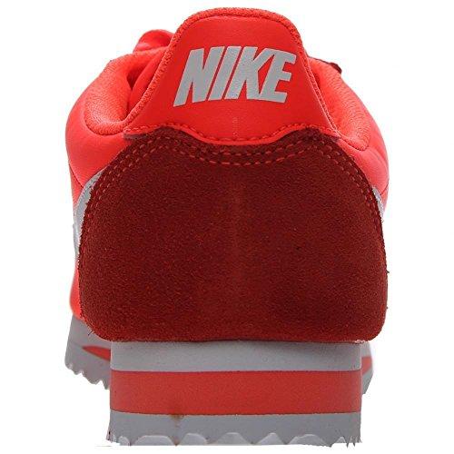 Nike Wmns Classic Cortez Nylon, Zapatillas de Deporte Para Mujer Naranja (Total Crimson / White)