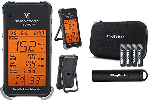 Swing Caddie SC200 Plus Portable Golf Launch Monitor