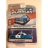 Greenlight Hot Pursuit Series 20 GREEN MACHINE Chicago Police Department 1974 Dodge Monaco Blue Whit
