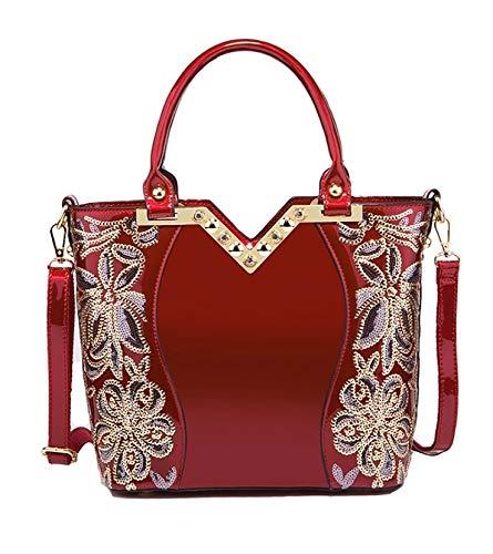 Trendy Crossbody Hobo Awl Designer Leather Elegant Purse Glossy Shoulder Handbag Bag Women Pu And Tote SatchelStylish Shiny Aurora 4j35ARL