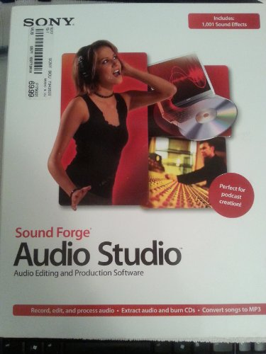 (Sony Sound Forge Audio Studio 8.0 Software Audio Editing and Production Software)