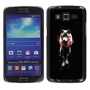 Stuss Case / Funda Carcasa protectora - OSCURO WOLF GLOW - Samsung Galaxy Grand 2