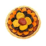 Broadway Basketeers Fathers Day Heart Healthy Floral Dried Fruit (Small) Gift Tray, 16 Ounce Box