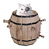 Mr. Sci Science Factory Cat Barrel Cat Play House