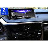 LFOTPP 2PCS 2016 2017 Lexus RX 350 RX 450h 12.3 Inch PET Screen Protector, Car Navigation System Display Screen Protective Film High Clarity Filters UV Anti-Glare